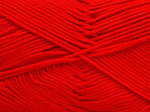 Fiber Content 50% Bamboo, 50% Acrylic, Red, Brand Ice Yarns, Yarn Thickness 2 Fine  Sport, Baby, fnt2-51661