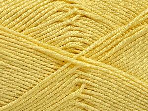 Fiber Content 50% Bamboo, 50% Acrylic, Yellow, Brand Ice Yarns, Yarn Thickness 2 Fine  Sport, Baby, fnt2-51665