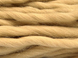 Fiber Content 100% Superwash Wool, Brand Ice Yarns, Beige, Yarn Thickness 6 SuperBulky  Bulky, Roving, fnt2-51675
