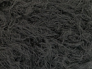 Fiber Content 50% Polyester, 50% Polyamide, Brand Ice Yarns, Dark Grey, Yarn Thickness 4 Medium  Worsted, Afghan, Aran, fnt2-51894