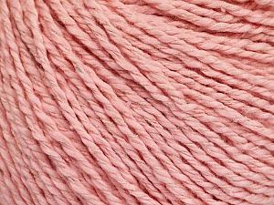 Fiber Content 68% Cotton, 32% Silk, Light Pink, Brand Ice Yarns, Yarn Thickness 2 Fine  Sport, Baby, fnt2-51936