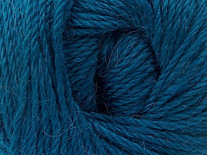 Fiber Content 45% Alpaca, 30% Polyamide, 25% Wool, Turquoise, Brand Ice Yarns, Yarn Thickness 3 Light  DK, Light, Worsted, fnt2-51949