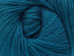 Fiber Content 45% Alpaca, 30% Polyamide, 25% Wool, Teal, Brand ICE, Yarn Thickness 3 Light  DK, Light, Worsted, fnt2-51950