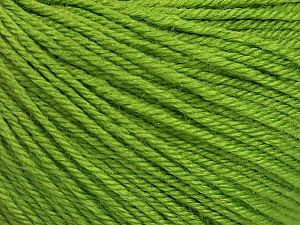 Fiber Content 40% Acrylic, 40% Merino Wool, 20% Polyamide, Brand Ice Yarns, Green, Yarn Thickness 2 Fine  Sport, Baby, fnt2-52022