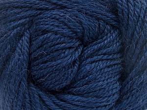 Fiber Content 45% Alpaca, 30% Polyamide, 25% Wool, Navy, Brand ICE, Yarn Thickness 3 Light  DK, Light, Worsted, fnt2-52117