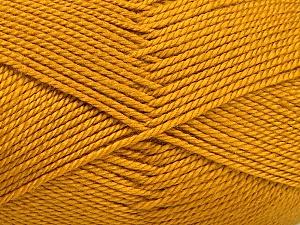 Fiber Content 100% Acrylic, Brand Ice Yarns, Gold, Yarn Thickness 2 Fine  Sport, Baby, fnt2-52119
