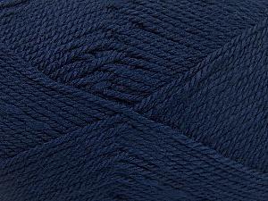 Fiber Content 100% Acrylic, Navy, Brand Ice Yarns, Yarn Thickness 2 Fine  Sport, Baby, fnt2-52121