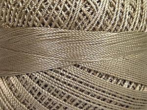 Fiber Content 100% Micro Fiber, Brand YarnArt, Light Beige, Yarn Thickness 0 Lace  Fingering Crochet Thread, fnt2-52261
