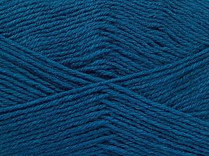 Fiber Content 60% Merino Wool, 40% Acrylic, Teal, Brand Ice Yarns, Yarn Thickness 2 Fine  Sport, Baby, fnt2-52352