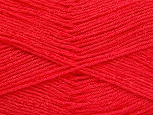 Fiber Content 60% Merino Wool, 40% Acrylic, Salmon, Brand Ice Yarns, Yarn Thickness 2 Fine  Sport, Baby, fnt2-52354