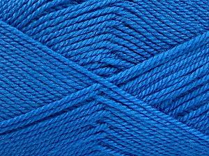 Fiber Content 100% Acrylic, Brand Ice Yarns, Blue, Yarn Thickness 2 Fine  Sport, Baby, fnt2-52359