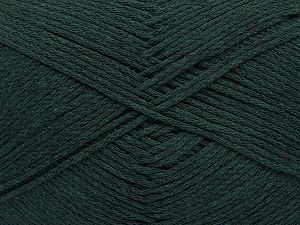 Fiber Content 100% Cotton, Brand Ice Yarns, Dark Green, Yarn Thickness 2 Fine  Sport, Baby, fnt2-52364