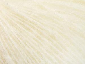 Fiber Content 34% Acrylic, 26% Polyamide, 25% Alpaca, 15% Superwash Merino Wool, Off White, Brand Ice Yarns, Yarn Thickness 3 Light  DK, Light, Worsted, fnt2-52379