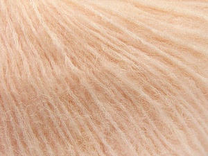 Fiber Content 34% Acrylic, 26% Polyamide, 25% Alpaca, 15% Superwash Merino Wool, Light Salmon, Brand Ice Yarns, Yarn Thickness 3 Light  DK, Light, Worsted, fnt2-52384