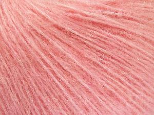 Fiber Content 34% Acrylic, 26% Polyamide, 25% Alpaca, 15% Superwash Merino Wool, Pink, Brand Ice Yarns, Yarn Thickness 3 Light  DK, Light, Worsted, fnt2-52578