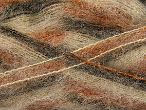 Fiber Content 70% Mohair, 30% Acrylic, Brand Ice Yarns, Camel, Brown Shades, Yarn Thickness 3 Light  DK, Light, Worsted, fnt2-52629