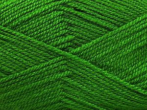 Fiber Content 100% Acrylic, Brand Ice Yarns, Green, Yarn Thickness 2 Fine  Sport, Baby, fnt2-52727