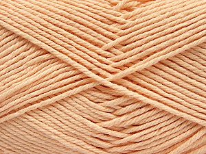 Baby cotton is a 100% premium giza cotton yarn exclusively made as a baby yarn. It is anti-bacterial and machine washable! Fiber Content 100% Giza Cotton, Light Salmon, Brand Ice Yarns, Yarn Thickness 3 Light  DK, Light, Worsted, fnt2-53077