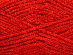 Fiber Content 100% Acrylic, Brand Ice Yarns, Dark Orange, Yarn Thickness 5 Bulky  Chunky, Craft, Rug, fnt2-53184