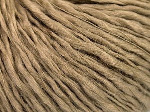 Fiber Content 60% Wool, 40% Acrylic, Brand Ice Yarns, Camel, Yarn Thickness 2 Fine  Sport, Baby, fnt2-53360