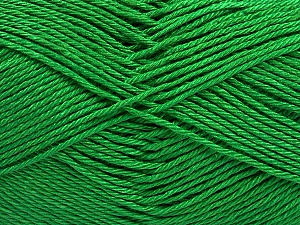 Fiber Content 100% Mercerised Cotton, Brand Ice Yarns, Green, Yarn Thickness 2 Fine  Sport, Baby, fnt2-53788