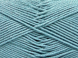 Fiber Content 100% Mercerised Cotton, Light Blue, Brand Ice Yarns, Yarn Thickness 2 Fine  Sport, Baby, fnt2-53795