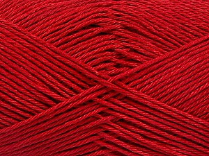 Fiber Content 100% Mercerised Cotton, Brand Ice Yarns, Dark Red, Yarn Thickness 2 Fine  Sport, Baby, fnt2-53797