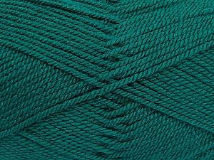 Fiber Content 100% Acrylic, Brand Ice Yarns, Dark Green, Yarn Thickness 2 Fine  Sport, Baby, fnt2-53822
