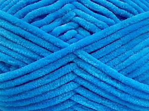 Fiber Content 100% Micro Fiber, Brand Ice Yarns, Blue, Yarn Thickness 4 Medium  Worsted, Afghan, Aran, fnt2-54154