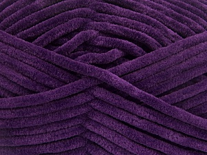 Fiber Content 100% Micro Fiber, Purple, Brand Ice Yarns, Yarn Thickness 4 Medium  Worsted, Afghan, Aran, fnt2-54157