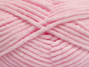 Fiber Content 100% Micro Fiber, Brand Ice Yarns, Baby Pink, Yarn Thickness 4 Medium  Worsted, Afghan, Aran, fnt2-54162