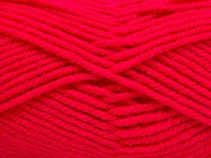 Fiber Content 100% Acrylic, Brand Ice Yarns, Gipsy Pink, Yarn Thickness 5 Bulky  Chunky, Craft, Rug, fnt2-54253