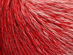 Fiber Content 55% Acrylic, 30% Wool, 15% Polyamide, White, Red, Brand Ice Yarns, Yarn Thickness 3 Light  DK, Light, Worsted, fnt2-54394