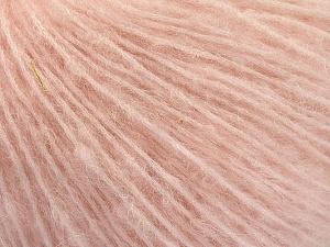 Fiber Content 34% Acrylic, 26% Polyamide, 25% Alpaca, 15% Superwash Merino Wool, Powder Pink, Brand ICE, Yarn Thickness 3 Light  DK, Light, Worsted, fnt2-54428