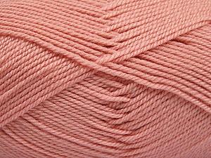 Fiber Content 100% Acrylic, Powder Pink, Brand Ice Yarns, Yarn Thickness 2 Fine  Sport, Baby, fnt2-54669