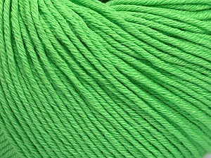 Global Organic Textile Standard (GOTS) Certified Product. CUC-TR-017 PRJ 805332/918191 Fiber Content 100% Organic Cotton, Light Green, Brand Ice Yarns, Yarn Thickness 3 Light  DK, Light, Worsted, fnt2-54729