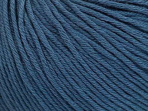 Global Organic Textile Standard (GOTS) Certified Product. CUC-TR-017 PRJ 805332/918191 Fiber Content 100% Organic Cotton, Indigo Blue, Brand Ice Yarns, Yarn Thickness 3 Light  DK, Light, Worsted, fnt2-54796