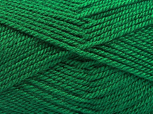 Fiber Content 100% Acrylic, Brand Ice Yarns, Emerald Green, Yarn Thickness 2 Fine  Sport, Baby, fnt2-54952