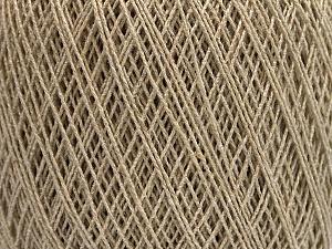 Fiber Content 70% Cotton, 30% Viscose, Brand Ice Yarns, Beige, fnt2-55106