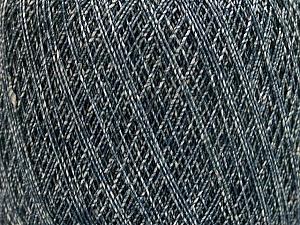 Fiber Content 90% Viscose, 10% Polyamide, White, Brand Ice Yarns, Blue, fnt2-55108