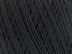 Fiber Content 90% Viscose, 10% Polyamide, Brand Ice Yarns, Black, Yarn Thickness 2 Fine  Sport, Baby, fnt2-55109