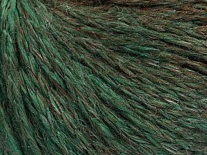 Fiber Content 55% Acrylic, 30% Wool, 15% Polyamide, Brand Ice Yarns, Green, Brown, Yarn Thickness 3 Light  DK, Light, Worsted, fnt2-55428