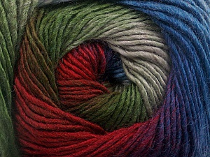 Fiber Content 50% Wool, 50% Acrylic, Red, Purple, Brand Ice Yarns, Grey, Green, Blue, Yarn Thickness 2 Fine  Sport, Baby, fnt2-55520