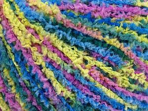 Fiber Content 100% Polyamide, Yellow, Lilac, Brand Ice Yarns, Green, Blue, Yarn Thickness 2 Fine  Sport, Baby, fnt2-56112