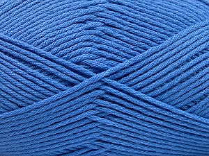 Fiber Content 50% SuperFine Acrylic, 50% SuperFine Nylon, Brand Ice Yarns, Blue, Yarn Thickness 4 Medium  Worsted, Afghan, Aran, fnt2-56287
