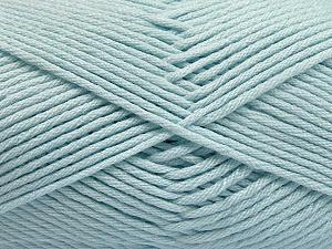 Fiber Content 50% SuperFine Acrylic, 50% SuperFine Nylon, Light Blue, Brand Ice Yarns, Yarn Thickness 4 Medium  Worsted, Afghan, Aran, fnt2-56288