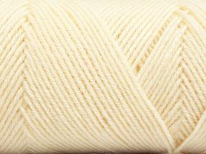 Fiber Content 50% Acrylic, 50% Wool, Brand Ice Yarns, Cream, Yarn Thickness 3 Light  DK, Light, Worsted, fnt2-56424
