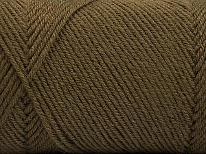 Fiber Content 50% Acrylic, 50% Wool, Brand Ice Yarns, Camel, Yarn Thickness 3 Light  DK, Light, Worsted, fnt2-56429