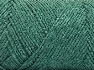 Fiber Content 50% Wool, 50% Acrylic, Sea Green, Brand Ice Yarns, Yarn Thickness 3 Light  DK, Light, Worsted, fnt2-56432