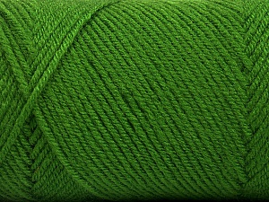 Fiber Content 50% Wool, 50% Acrylic, Brand Ice Yarns, Green, Yarn Thickness 3 Light  DK, Light, Worsted, fnt2-56433